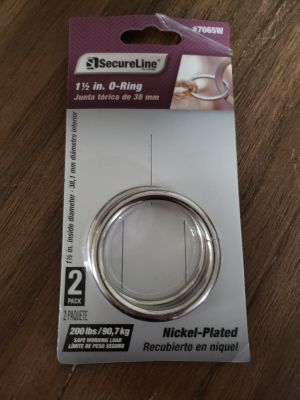 Brand New Secure Line 1 1/2 In O-Ring 2 Pack