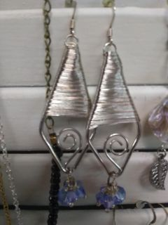 New with tags handmade earrings