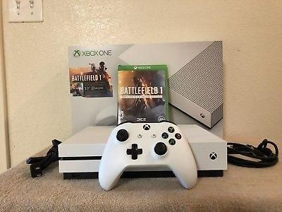 Xbox One S with battlefield 1