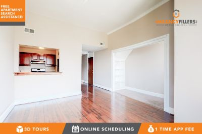 Charming 2 bed in Mount Vernon w/laundry in unit & rear parking!
