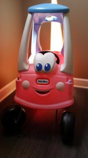 Special edition little tikes coupe (smoke free home)