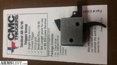 For Sale: CMC AR15 Trigger Group