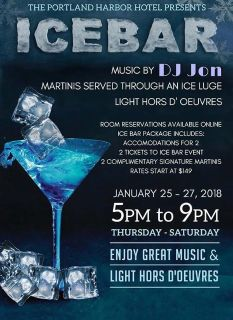 I have two tickets to the sold out Ice Bar event for this Saturday!