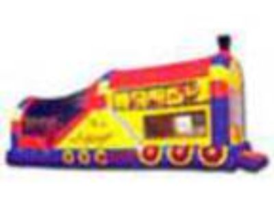 Brewster Jump N Slide Train Combo Inflatable For Rent for Rent