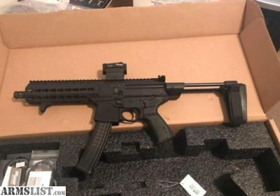 For Trade: Sig MPX with extras