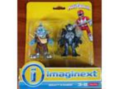 Imaginext Mighty Morphin Power Rangers Baboo and Squatt