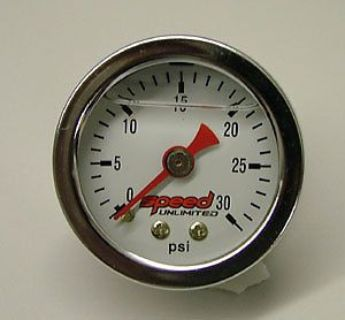 "Purchase Speed 101L Fuel Pressure Gauge 1.5"" 0-30 psi. Liquid Filled 1/8"" NPT motorcycle in Suitland, Maryland, United States, for US $34.94"
