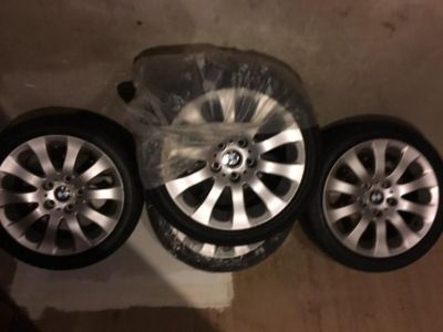 BMW 3 Series Rims And Run Flat tires