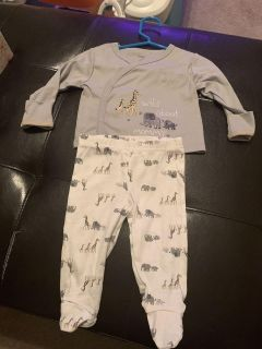 0-3 Month Gerber Organic Outfit