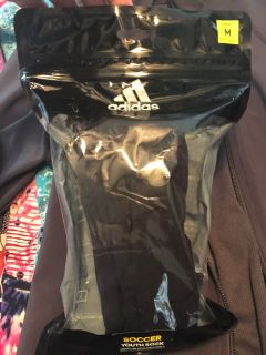 Adidas Youth size M - shin guards - brand new in package