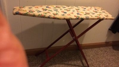 Child s toy ironing board from the 60 s