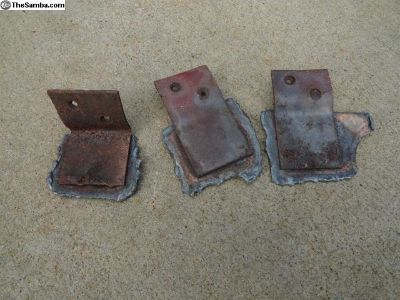 VW Convertible Beetle Rear Wood Mounts
