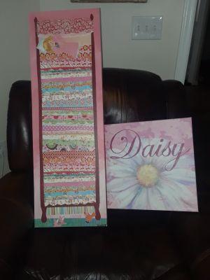Oopsy Daisy canvas