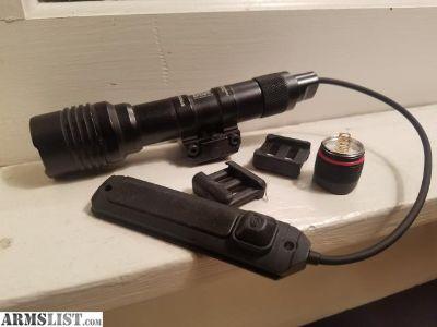 For Sale: Protac rail mount 2 weapon light