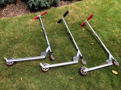 Razor scooters! 3 available