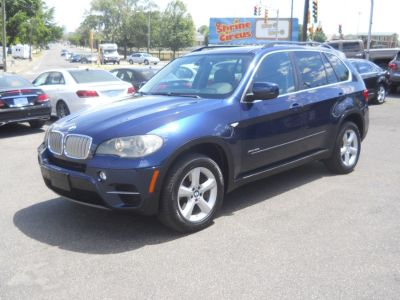 2011 BMW X5 xDrive50i (Deep Sea Blue Metallic)