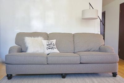 Sofa and Oversized Chair