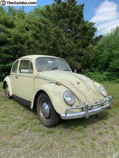 1965 Beetle - New Interior