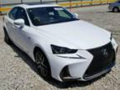 Salvage 2017 LEXUS IS 350 for Sale