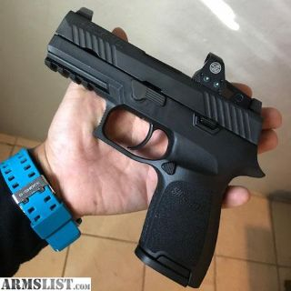 For Sale: Sig Sauer P320 RX Romeo1 Compact 9mm