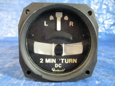 Purchase Beechcraft King Air Turn & Bank Indicator PN 100-384078-1, RCA55-11 27.5V (3710) motorcycle in Melbourne, Florida, United States