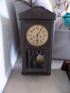 ANTIQUE GERMAN WALL CLOCKS