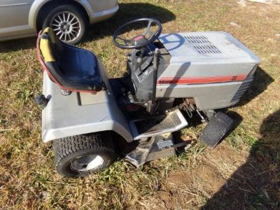 parting out classic craftsman lawn tractor