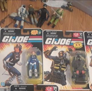 GI JOE Brand New Never Opened $20 a piece or 6 for $120
