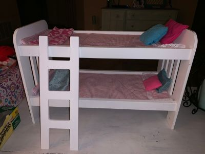 American girl/ our generation doll bunk bed!!