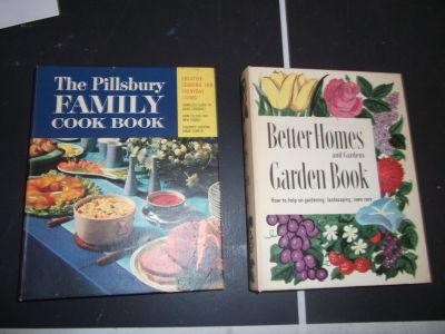 Vtg Gardening/Cookbook Lot