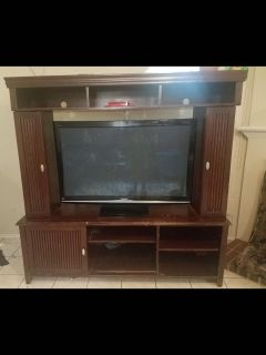 4 piece Large tv stand
