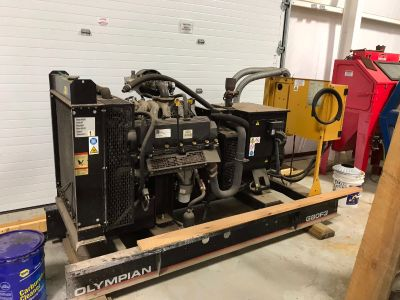 2003 Other Equipment Olympian G80F3