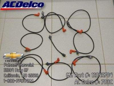 Buy 67 68 69 70 71 72 73 74 Camaro Spark Plug Wires 302 327 350 SBC Engines motorcycle in California, Missouri, United States, for US $25.00