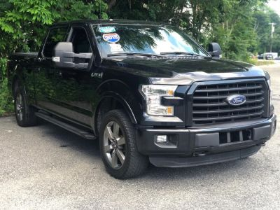 "2015 Ford F-150 4WD SuperCrew 157"" XLT w/HD Pa (Black)"