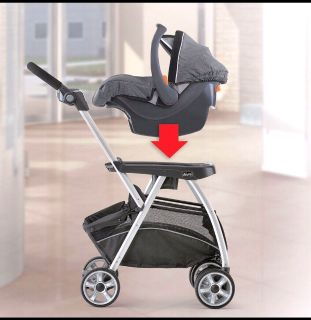 Graco keyfit caddy stroller put your car seat on and turn it into a stroller light weight & easy to use.