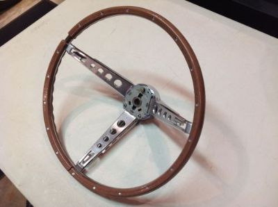 Sell 1964 1965 1966 1967 1968 1969 Ford Mustang Deluxe Steering Wheel & Horn Bar OEM motorcycle in Bothell, Washington, United States, for US $198.95