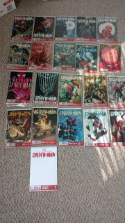 Spiderman marvel now plus many others as well