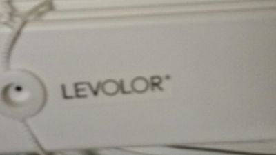 Levolor blinds 31 1/2 by 72