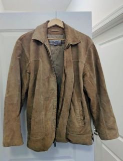 Wilsons Leather mens suede jacket