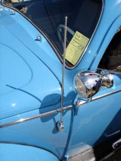 Purchase VW TYPE 1 BUG BUS BAY WINDOW SIDE MOUNT SINGLE POST CHROME BASE ANTENNA motorcycle in Long Beach, California, United States, for US $20.00
