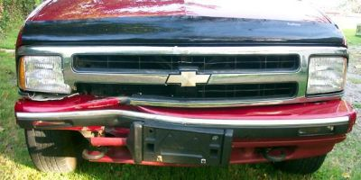 Buy S-10 PICKUP BLAZER bumper w Grille & Valance 95 1996 97 motorcycle in Saint Paul, Minnesota, US, for US $318.00