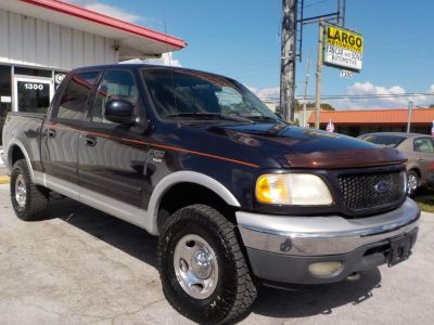 2001 Ford F-150 King Ranch (Blue)