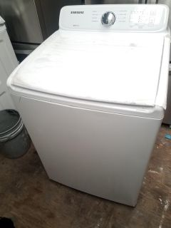 NEW, NEW SAMSUNG TOP LOAD WASHER