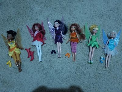 Tinkerbell and Friends