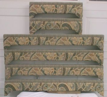 6 Pelmets or Box Valances for Home or RV. Neat. New