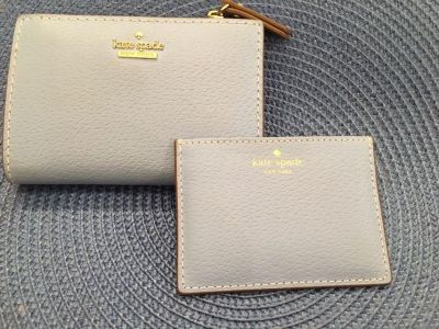 Kate Spade wallet with card holder. Gift giving condition.