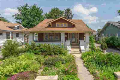 5066 West 16th Street INDIANAPOLIS Four BR, Great Arts & Crafts