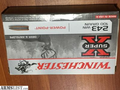 For Sale: .243 Winchester Ammo