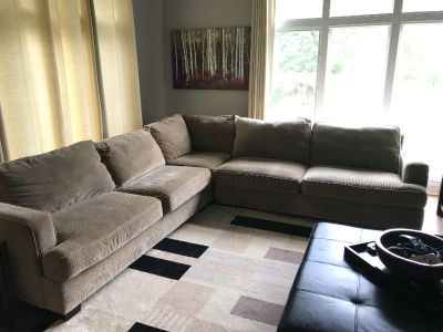 GUC Macy s large 3 piece sectional