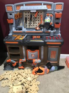 Step 2 Home Depot tool bench